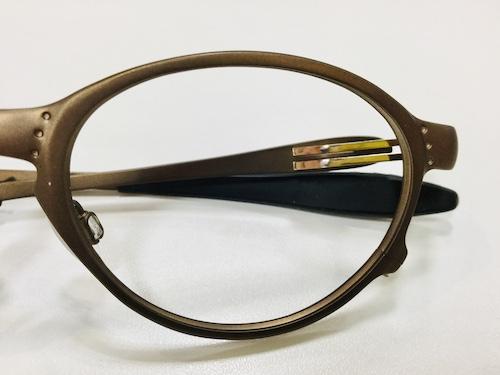 メガネフレーム修理