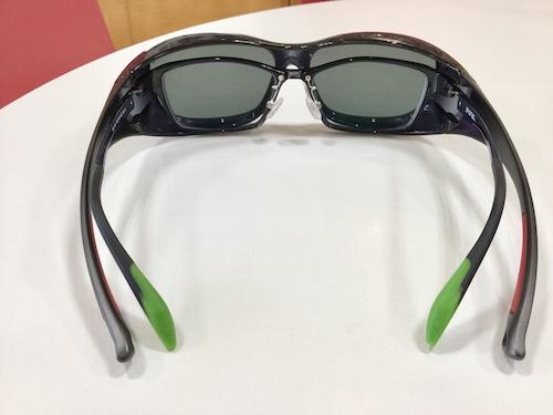 偏光レンズ 度付きサングラス