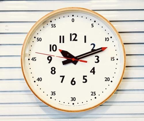 時計店 レムノス ふんぷんクロック レムノス fun pun clock オシャレ インテリア 新築 出産 小学生 幼稚園 保育園