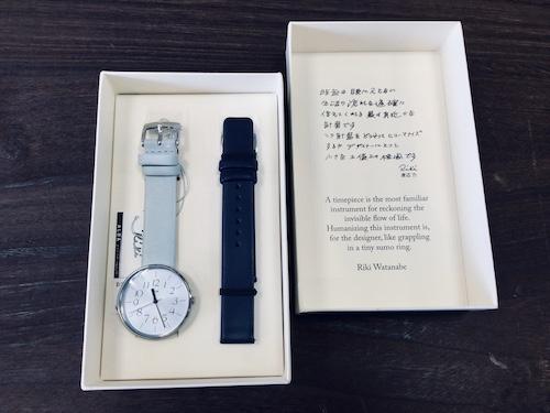 腕時計 rikiwatch 限定品 秋田 イチノセキ時計店