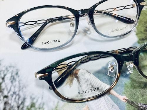 フェザーメタル 女性 秋田美人 眼鏡  眼精疲労 コンタクトレンズ 遠近両用眼鏡