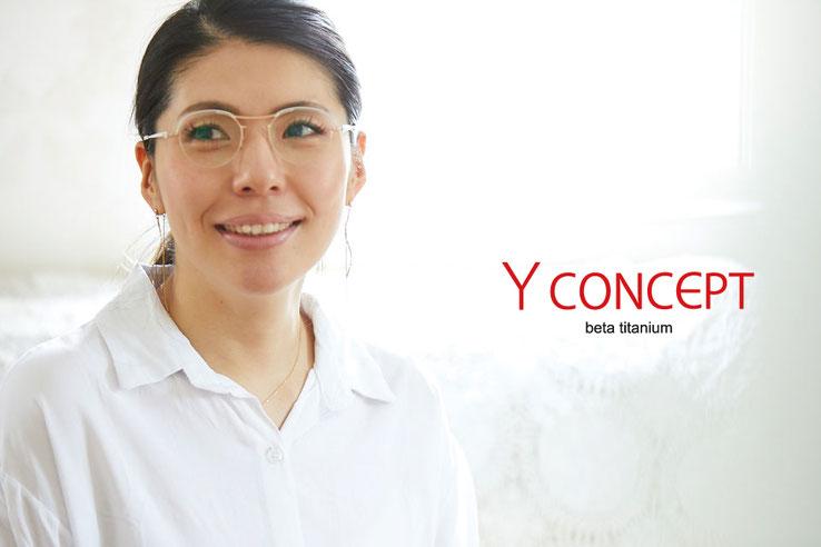 YCONCEPT 日本製 メガネ 強度近視 白内障 軽い