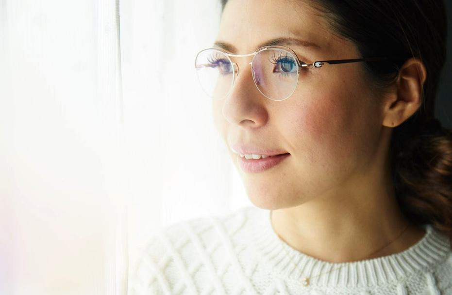 YCONCEPT yコンセプト オシャレ かけやすい 強度近視 メガネ メガネ美人 メガネ女子 秋田