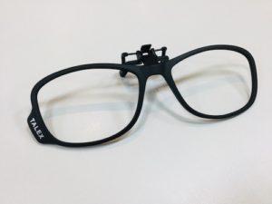 タレックス前掛けサングラス CLIP03 talex 偏光レンズ 秋田 メガネの上からかける