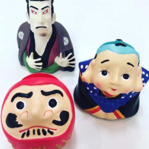 メガネスタンド 福助 歌舞伎 達磨 秋田 イチノセキ メガネ インテリア 雑貨