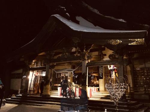 令和3年 三吉神社 初詣 秋田市 イチノセキ 神社